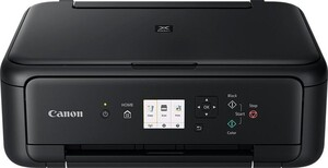 CANON PIXMA TS 5150 schwarz Multifunktionsdrucker (Tintenstrahldrucker, 3-in-1, Scanner, Kopierer, WLAN, PictBridge, USB, AirPrint, Cloud Print, Duplex, randloser Druck)