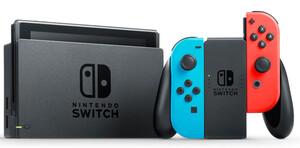 NINTENDO Switch Spielkonsole Switch rot/blau