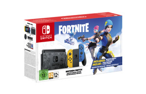 NINTENDO Switch Fortnite (Special Edition) (Fortnite Design, Exklusive Joy-Cons, Downloadcode Wildcat-Paket)