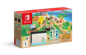 NINTENDO Switch Spielkonsole Switch Animal Crossing (New Horizons Edition), inkl. DLC Software