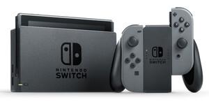 NINTENDO Switch Spielkonsole Switch grau