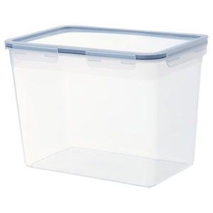 IKEA 365+ Vorratsbehälter mit Deckel, rechteckig/Kunststoff