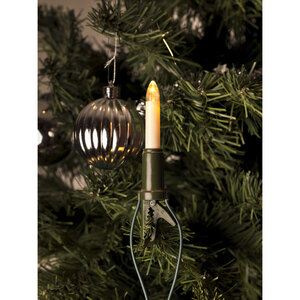Konstsmide              LED-Baumkette, Schaftkerzen, 15 Dioden, warmweiß