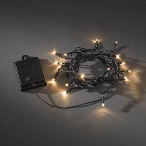 Konstsmide              LED-Außenlichterkette, Timer und 8 Funktionen, 40 Dioden