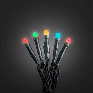 Konstsmide              Micro LED Lichterkett gefrostet, 50 LEDs, bunt