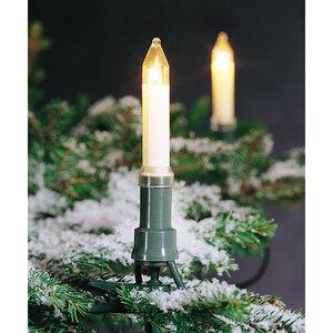 Konstsmide              Baumkette mit Schaftkerzen, 16 Kerzen, warmweiß