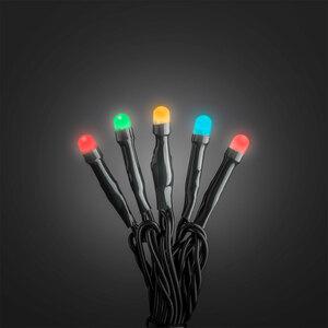 Konstsmide              Micro-LED-Lichterkette gefrostet, 40 LEDs, bunt