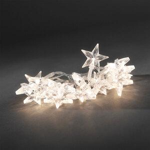 Konstsmide              LED-Dekolichterkette 20 Sterne, warmweiß