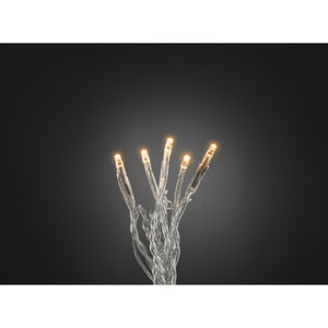Konstsmide              Micro-LED-Lichterkette, 35 Dioden, bernsteinfarben, transparent