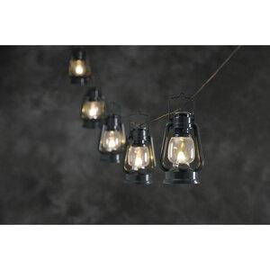 Konstsmide              LED-Laternen-Lichterkette, 8 Sturmlaternen