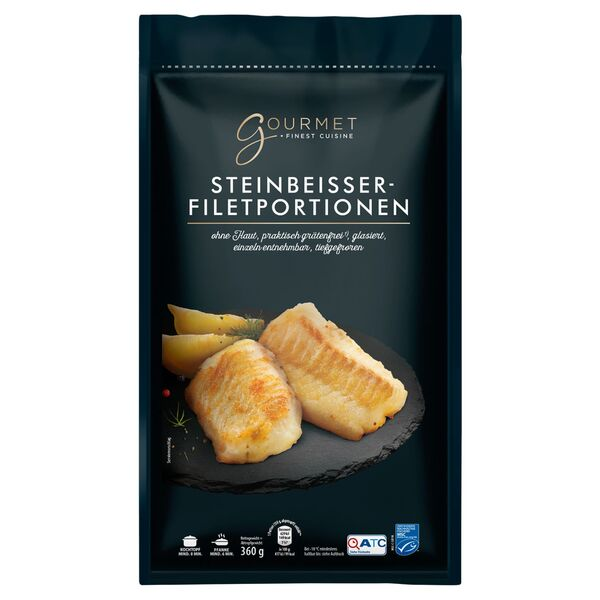 GOURMET Steinbeißer Filetportionen 360 g