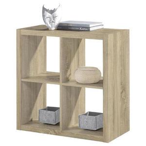 XXXLutz Raumteiler sonoma eiche , Style , 77x77x38 cm , Nachbildung , Beimöbel erhältlich , 000887021311