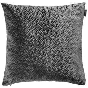 Ambiente Kissenhülle titanfarben 50/50 cm , Tenuta Samt Stick , Textil , Uni , 50x50 cm , Samt , 003917045907