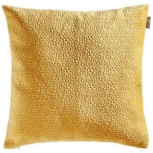 Ambiente Kissenhülle goldfarben 50/50 cm , Tenuta Samt Stick , Textil , Uni , 50x50 cm , Samt , 003917045909