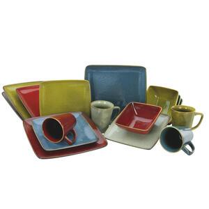 Creatable kombiservice 16-teilig , Retro Style Kombiservice 22316 , Multicolor , 300 ml,400 ml , 31.5x32x31.5 cm , 007768033701