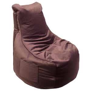 XXXLutz Sitzsack samt rosa , Pesaro , Textil , 330 L , 65x95x75 cm , Samt , Indoor, Reißverschluss , 000277002414