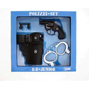 XXXLutz Kinderkostüm , 195 0150 Schrödel Polizei Set , Schwarz, Silberfarben , Kunststoff , 29.5x28.5x6 cm , 005490000602