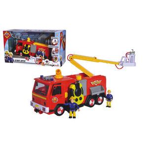 Simba Feuerwehrauto , 109251085 , Multicolor, Rot , Kunststoff , 43x24x17 cm , Geräuscheffekte, Lichteffekte, Scheinwerfer,Geräuscheffekte, Lichteffekte, Scheinwerfer,Geräuscheffekte, Lichteffekte