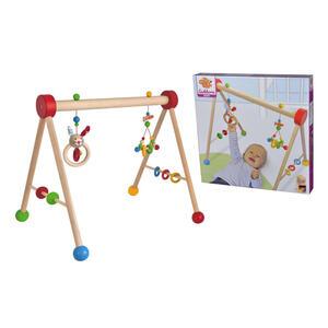 Eichhorn Spielbogen , 100017034 Eichhorn , Multicolor , Holz, Textil , 50x48.7x7.5 cm , Plüsch , 004500048701