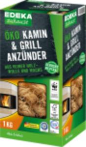 EDEKA Zuhause Öko-Kamin- und Grillanzünder