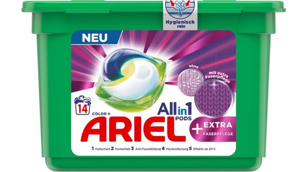 Ariel All-in-1 Pods Color + EXTRA Faserpflege