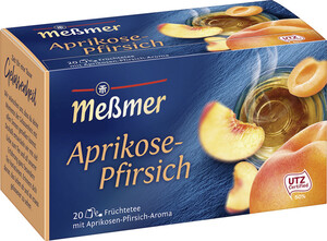 Meßmer Tee Aprikose-Pfirsich 20x 2,5 g