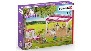 Schleich 72118 - Reitschule mit Pferdebox und Zubehör