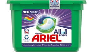 Ariel All-in-1 Pods Color-Farbschutz