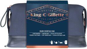 King C. Gillette Geschenkset für Bart und Gesicht
