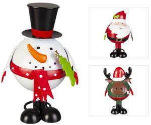 Weihnachtsfigur - ca. 9 x 9 x 16,5 cm - 1 Stück