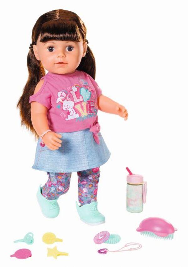 BABY born - Soft Touch Sister - brünett - 43 cm
