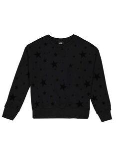 Mädchen Sweatshirt mit Allover-Print