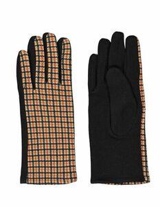 Damen Handschuhe mit Karomuster