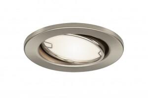Di-KA LED Einbauleuchten-Set ,  6er-Set, nickel matt