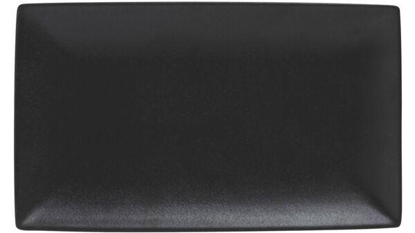MAXWELL & WILLIAMS CAVIAR BLACK Platte 34,5x19,5 cm