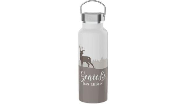 """Geschenk für Dich Thermoflasche """"Geniesse das Leben"""" 0,5l"""