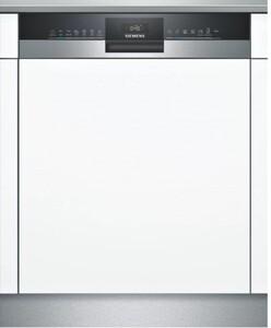Siemens Geschirrspüler SN53HS36TE ,  teilintegriert, 12 Maßgedecke, Edelstahl