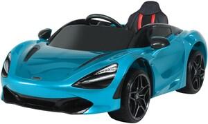 Mclaren 720S Elektroauto Kinder Elektrofahrzeug belize blue