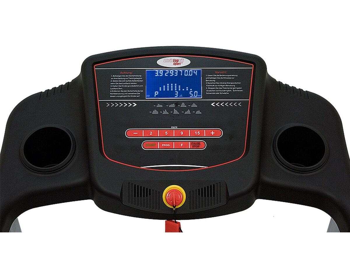 Bild 3 von Christopeit Laufband »TM 500S«, mit Herzfrequenzmessung, 9 Trainingsprogramme