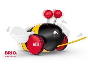 BRIO 30165 »Wilde Hummel«, klassisches Nachziehspielzeug, ab 1 Jahr