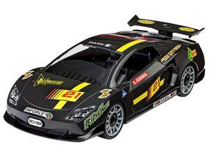 Revell Junior Kit Modellbausatz Rennwagen, Maßstab 1:20, schwarz, ab 4 Jahren