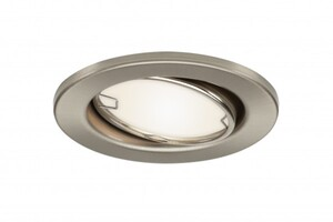 Di-KA LED Einbauleuchten-Set 6er-Set, nickel matt