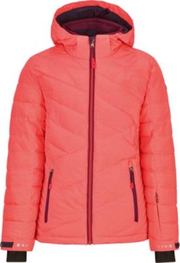 Skijacke GLADIS  neonorange Gr. 176 Mädchen Kinder