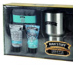 Geschenk-Set mit Kaffeebecher & Waschlappen