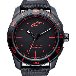 Alpinestars Armbanduhr Tech Watch 3H Red