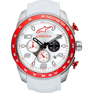 Alpinestars Armbanduhr Tech Watch White/Red