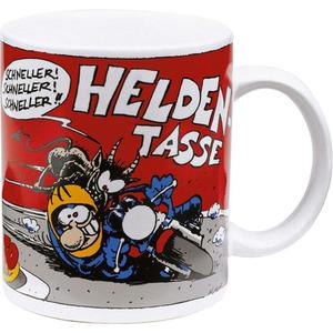 "MOTOmania Tasse ""Helden/Schisser"""