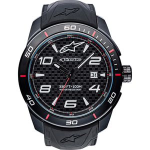 Alpinestars Armbanduhr Tech Watch 3H Carbon White