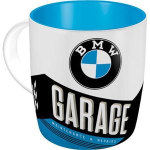 """Nostalgic-Art Tasse """"BMW-Garage"""" 330 ml"""