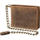 Bild 1 von Spirit Motors Vintage Leder Geldbörse 13 Fächer braun